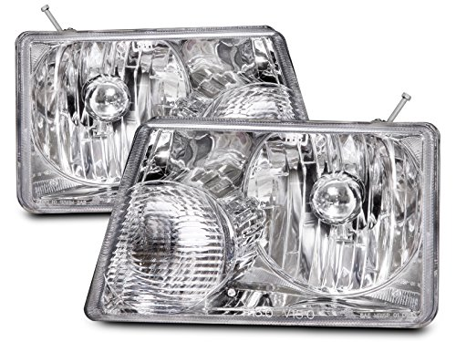 Ford Ranger New Headlamps Set w/Xenon Headlight Bulbs (Ford Ranger Headlight Bulbs compare prices)