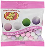 Jelly Belly Chocolate Dutch Mints, 2.9-Ounce Bags (Pack of 12)