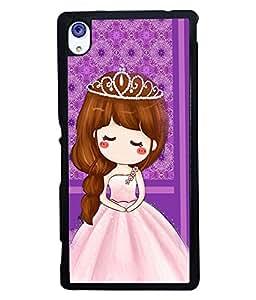 Fuson 2D Printed Girly Designer back case cover for Sony Xperia M4 Aqua - D4446