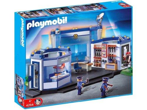 Jouet : Playmobil - 4264 - Commissariat de police