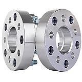 ECCPP 2PCS Hub Centric Wheel Spacers Adapter - 1.25