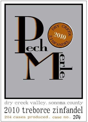 2010 Pech Merle Treborce Dry Creek Valley Zinfandel 750 Ml
