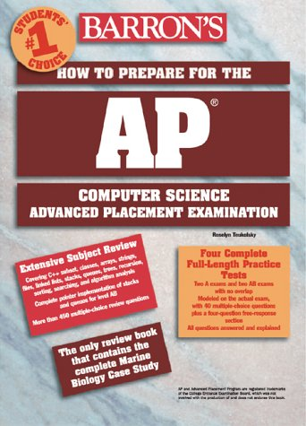How to Prepare for the AP Computer Science (Barron's AP Computer Science)