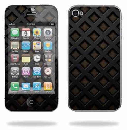 Apple iPhone 4 or iPhone 4S AT&T or Verizon 16GB 32GB Cell Phone Sticker Skins Black Wall