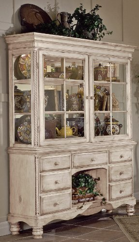 Buy Low Price Hillsdale Furniture Hillsdale Furniture Wilshire White Buffet & Hutch Set (4508-851,4508-852)