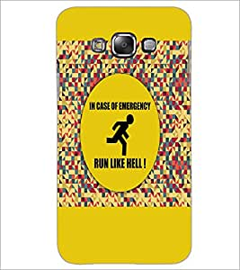 PrintDhaba Quote D-3524 Back Case Cover for SAMSUNG GALAXY A8 (Multi-Coloured)