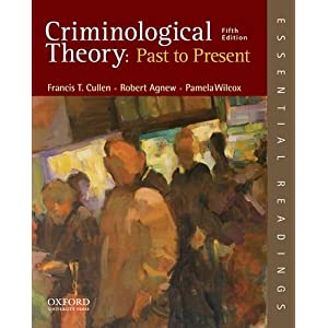 Past theory criminological present to pdf