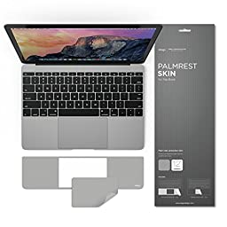 elago PALMREST SKIN for 12-inch Macbook with Trackpad Protector (Space Gray)