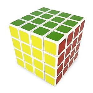 Cube Magique 4x4 - blanc - Cubikon Lucky Lion