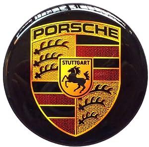 Amazon Com Porsche 6 Cm Resin Sticker Decals Center Wheel