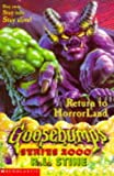 Return to Horrorland (Goosebumps Series 2000)