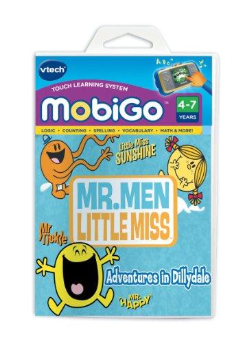 Vtech Mobi Handheld Portable Learning System Mr Men And Little Miss Software
