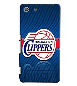 Clarks Printed Designer Back Cover For Sony Xperia M5