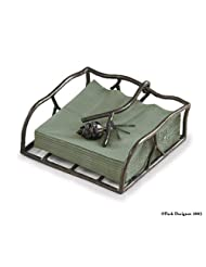 Pine Lodge Lunch Napkin Holder 22-555-9.5 by Park Designs