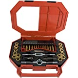 Mibro 301380 46-Piece Tap, Die and Drill SAE Set
