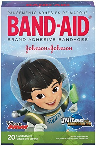 band-aid-adhesive-bandanges-disneys-miles-from-tomorrowland-assorted-20-count-by-band-aid