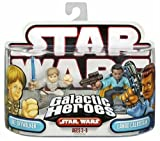 Hasbro 87230 Star Wars Galactic Heroes Mini-Figure 2 Pack - Luke Skywalker and Lando Calrissian