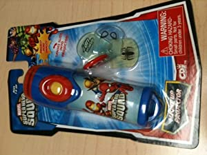 Amazon.com: Marvel Super Hero Squad: Light up Projector: Toys & Games