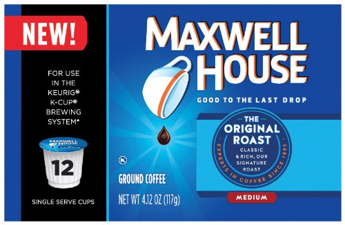 Maxwell House Coffee, Original Roast, 4.12 Ounce