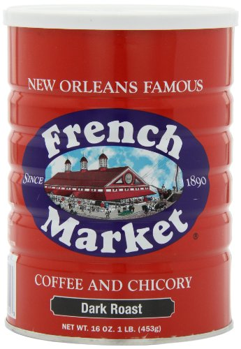 French Market Coffee & Chicory, City Roast(Dark
