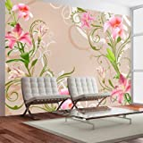 Non-woven !! Top !! Photo wallpaper ! Murals ! Wall Mural Photo ! 100x70 cm - Flowers 10110906-48 ! Free glue for each wallpaper !