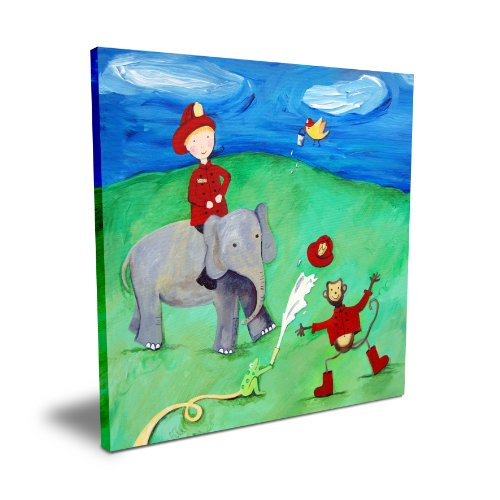 "Cici Art Factory Animal Fire Squad, 16""x 16"""