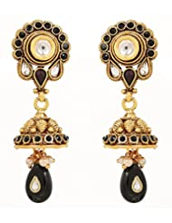 Akshim Multicolour Alloy Earrings For Women - B00NPYA5TY