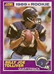 1989 Score #436 Billy Joe Tolliver