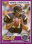 1989 Score #436 Billy Joe Tolliver