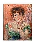 Legendarte Lienzo Jeanne Samary In Abito Scollato di Pierre Auguste Renoir