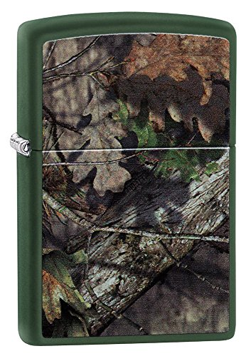 Zippo Mossy Oak Break Up Country Pocket Lighter, Green Matte