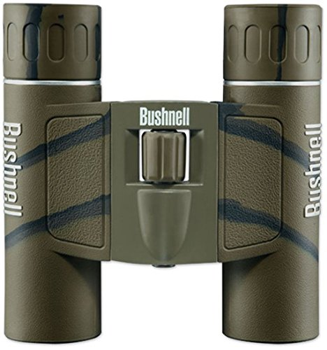 Bushnell Powerview 10x25mm Compact Folding Roof Prism Binocular (Camouflage)