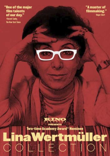 Cover art for  Kino Classics Lina Wertmuller Collection (Love & Anarchy, The Seduction of Mimi, All Screwed Up) (3-Disc Set)