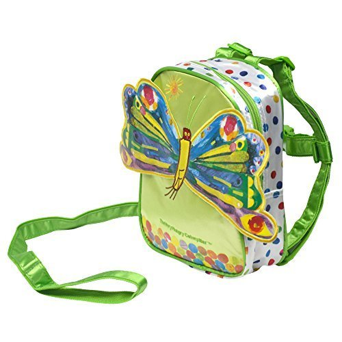The World of Eric Carle 2-in-1 Butterfly Backpack and Harness (Green) - 1