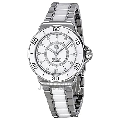 Tag Heuer Formula 1 Diamond Accented White Ceramic Ladies Watch WAU2211BA0861 from Tag Heuer