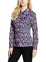 TrakaBarraka Camisa Mujer Bucine (Azul / Multicolor)