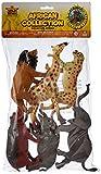 Estupenda colección surtida de 6 animales diferentes de la Sabana Africana en plástico. Creada por Wild Republic, esta colección contiene diversión para todos garantizada. Recomendado par niños a partir de 3 años. Cada figura mide aproximadam...