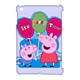 Peppa Pig Printed Hard Shell Snap On Case For ipad mini