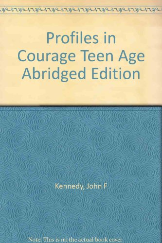 a literary analysis of profiles in courage by john f kennedy Robert f kennedy day of affirmation  and i presented him with a copy of profiles in courage which was  mrs john kennedy this is a day of affirmation,.