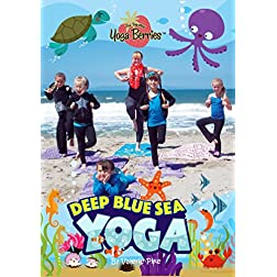 Traveling Yoga Berries - Deep Blue Sea Yoga