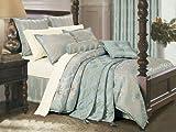 Salvona 8-Piece Silk Touch King Comforter Set