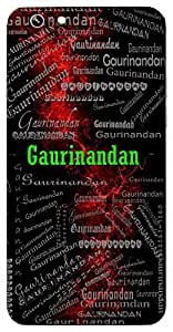 Gaurinandan (Son Of Gauri (Lord Ganesh, Kartikeya )) Name & Sign Printed All over customize & Personalized!! Protective back cover for your Smart Phone : Moto G-4-Plus