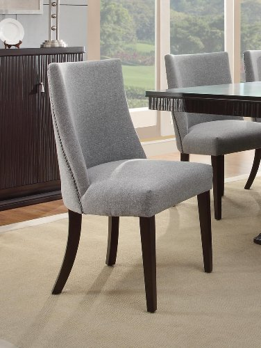 homelegance 2588s accent dining chair set of 2 blue grey furniture chairs kitchen room chairs. Black Bedroom Furniture Sets. Home Design Ideas