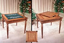 Hot Sale Square Game Table with Removable Top & Corner Ash Trays