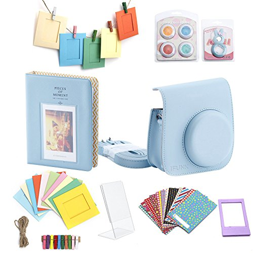 Minoniso-7-in-1-Fujifilm-Instax-Mini-8-Camera-Accessory-Set-Bundle-with-Camera-Case-Book-Album-Color-Lens-Set-Selfie-Lens-Wall-Hanging-Frames-Film-Frame-and-Stickers