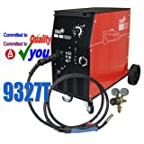 180Amp Mig Gas Gasless Welder & Euro Torch Workshop No 180A Welding 2yrs Warranty