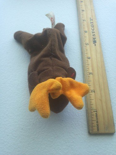 Ty Teenie Beanie - Chocolate the Moose from McDonalds Happy Meal