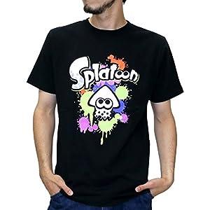 (スプラトゥーン) Splatoon Tシャツ メンズ ブランド 半袖 ロゴ キャラクター プリント 8color LL 柄6