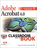 echange, troc Adobe Press - Adobe Acrobat 4.0 (avec CD-Rom)