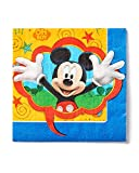 American Greetings Mickey Mouse Clubhouse Lunch Napkins (16-Pack), Party Supplies
